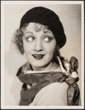 """Movie Posters:Miscellaneous, Josephine Dunn (c. Late 1920s). Very Fine-. Oversized Portrait Photo (10"""" X 13"""") Photography by Ruth Harriet Louise. Miscell..."""
