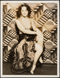 "Movie Posters:Miscellaneous, Julia Faye (c. Late 1920s). Very Fine-. Oversized Portrait Photo (10"" X 13"") Photography by Ruth Harriet Louise. Miscellaneo..."