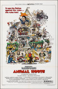"Movie Posters:Comedy, Animal House (Universal, 1978). Folded, Very Fine+. One Sheet (27"" X 41"") Style B. Rick Meyerowitz Artwork. Comedy.. ..."