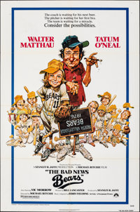 """The Bad News Bears & Other Lot (Paramount, 1976). Folded, Overall: Fine/Very Fine. One Sheets (3) (27"""" X 41..."""