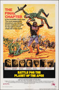 "Movie Posters:Science Fiction, Battle for the Planet of the Apes (20th Century Fox, 1973). Folded, Very Fine-. One Sheet (27"" X 41""). Robert Tanenbaum Artw..."