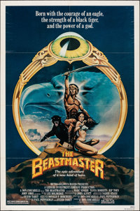 """The Beastmaster & Other Lot (MGM/UA, 1982). Folded, Overall: Fine. One Sheets (2) (27"""" X 41""""). C. W. T..."""