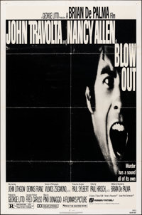 "Blow Out & Other Lot (Filmways, 1981). Folded, Fine/Very Fine. One Sheets (4) (27"" X 41""). Mystery..."