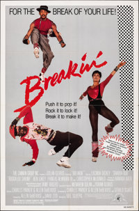 """Breakin' & Other Lot (MGM, 1984). Folded, Fine/Very Fine. One Sheets (2) (27"""" X 41""""). Musical. ... (To..."""