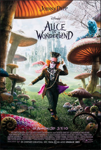 """Alice in Wonderland & Other Lot (Walt Disney Pictures, 2010). Rolled, Very Fine+. One Sheets (3) (27"""" X 40&..."""