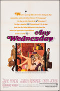 """Movie Posters:Comedy, Any Wednesday & Other Lot (Warner Bros., 1966). Folded, Very Fine-. One Sheets (2) (27"""" X 41""""), Uncut Pressbook (20 Pages, 1... (Total: 4 Items)"""
