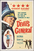 """Movie Posters:Foreign, The Devil's General (DCA, 1957). Folded, Fine+. One Sheet (27"""" X 41"""") & Photos (10) (8"""" X 10""""). Foreign.. ... (Total: 11 Items)"""