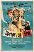 """Movie Posters:Comedy, Doctor at Sea & Other Lot (Republic, 1955). Folded, Fine+. One Sheets (2) (27"""" X 41"""") & Photos (17) (Approx. 8"""" X 10""""). Come... (Total: 19 Items)"""