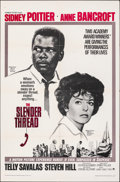 "Movie Posters:Drama, The Slender Thread & Other Lot (Paramount, 1966). Folded, Very Fine. One Sheets (2) (27"" X 41"") & Uncut Pressbooks (2) (Mult... (Total: 4 Items)"