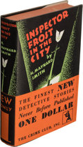 Books:Mystery & Detective Fiction, H. Maynard Smith. Inspector Frost in the City. New York: The Crime Club, Inc., 1930. First edition.. ...