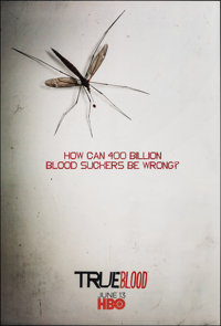 "True Blood (HBO, 2009 & 2010). Rolled, Very Fine+. Television One Sheets (4) (27"" X 40"") SS Advance &..."