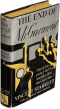 Books:Mystery & Detective Fiction, Vincent Starrett. The End of Mr. Garment. New York: The Crime Club, Inc., [1932]. First edition.. ...
