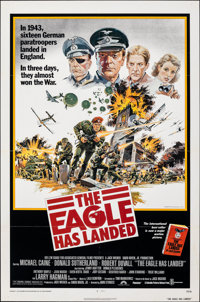 """The Eagle Has Landed & Other Lot (Columbia, 1976). Folded, Overall: Very Fine. One Sheets (3) (27"""" X 41&quo..."""