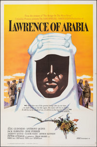 "Lawrence of Arabia (Columbia, 1962). Folded, Very Fine/Near Mint. One Sheet (27"" X 41"") Roadshow Style B. Acad..."