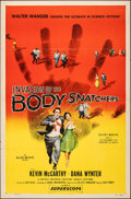 "Movie Posters:Science Fiction, Invasion of the Body Snatchers (Allied Artists, 1956). Folded, Fine+. One Sheet (27"" X 41""). Science Fiction.. ..."