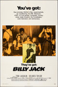 "Movie Posters:Action, Billy Jack (Warner Bros., 1971). Folded, Fine/Very Fine. One Sheet (27"" X 41""). Action.. ..."