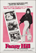 "Movie Posters:Sexploitation, Fanny Hill (Cinemation Industries, 1969). Folded, Very Fine. One Sheet (27"" X 41""). Sexploitation.. ..."