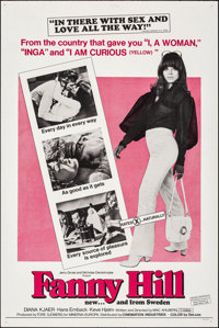 """Fanny Hill (Cinemation Industries, 1969). Folded, Very Fine. One Sheet (27"""" X 41""""). Sexploitation"""