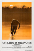 "Movie Posters:Thriller, The Legend of Boggy Creek (Howco, 1973). Folded, Very Fine-. One Sheet (27"" X 41""). Ralph McQuarrie Artwork. Thriller.. ..."