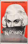 "Movie Posters:Foreign, Rosemary (Films Around the World, 1958). Folded, Fine. One Sheet (28"" X 42""). Foreign.. ..."