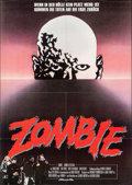 "Movie Posters:Horror, Dawn of the Dead (Constantin Film, 1979). Folded, Very Fine+. German A1 (23.25"" X 33""). Horror.. ..."