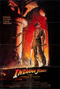 "Movie Posters:Adventure, Indiana Jones and the Temple of Doom (Paramount, 1984). Folded, Very Fine-. One Sheet (27"" X 40"") SS, Style A, Bruce Wolf Ar..."