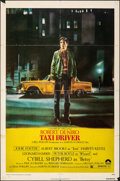 "Movie Posters:Crime, Taxi Driver (Columbia, 1976). Folded, Fine. One Sheet (27"" X 41""). Guy Pellaert Artwork. Crime.. ..."