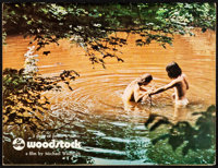 "Woodstock (Warner Bros., 1970). Very Fine-. Program (48 Pages, 8.5"" X 11""). Rock and Roll"