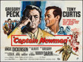 "Movie Posters:War, Captain Newman, M.D. (Universal, 1964). Folded, Fine/Very Fine. British Quad (30"" X 40""). War.. ..."