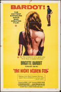 """Movie Posters:Foreign, The Night Heaven Fell (Kingsley International, 1958). Folded, Fine+. One Sheet (27"""" X 41""""). Foreign.. ..."""