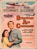 "Movie Posters:Drama, Strategic Air Command (Paramount, 1955). Folded, Fine+. Poster (30"" X 40""). Drama.. ..."
