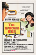 "Movie Posters:Comedy, The Wrong Box (Columbia, 1966). Folded, Very Fine. One Sheet (27"" X 41""). Comedy.. ..."