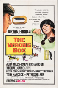 "The Wrong Box (Columbia, 1966). Folded, Very Fine. One Sheet (27"" X 41""). Comedy"