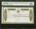 World Currency, Canada Welshpool, NB- Campobello Mill and Manufacturing Company $10 ND (1839) Ch.# NB05-10-06R Remainder PMG About Uncircu...
