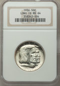 1936 50C Long Island MS64 NGC. NGC Census: (2052/1695). PCGS Population: (2521/2114). CDN: $85 Whsle. Bid for problem-fr...