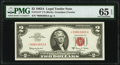 Small Size:Legal Tender Notes, Fr. 1514* $2 1963A Legal Tender Star Note. PMG Gem Uncirculated 65 EPQ.. ...