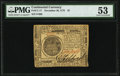 Continental Currency November 29, 1775 $7 PMG About Uncirculated 53