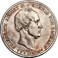 German States:Saxony, German States: Saxony. Friedrich August II Proof 2 Taler 1854-F PR64 Cameo PCGS,...