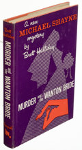 Books:Mystery & Detective Fiction, Brett Halliday. Murder and the Wanton Bride. New York: Dodd, Mead & Company, [1958]. First edition. Inscribed on...