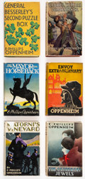 Books:Mystery & Detective Fiction, E. Phillips Oppenheim. Group of Six First American Editions. Boston: Little, Brown and Company, 1925-1940.... (Total: 6 Items)