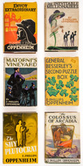 Books:Mystery & Detective Fiction, E. Phillips Oppenheim. Group of Five First American Editions and One Reprint. Boston [and:] New York: Little, Brown and Comp... (Total: 6 Items)