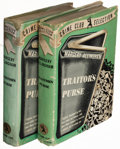 Books:Mystery & Detective Fiction, Margery Allingham. Traitor's Purse. New York: The Crime Club, Inc., 1941. First American edition. Two copies.... (Total: 2 Items)