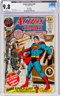 Action Comics #405 Twin Cities Pedigree (DC, 1971) CGC NM/MT 9.8 White pages