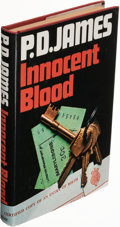 Books:Mystery & Detective Fiction, P. D. James. Innocent Blood. London: Faber and Faber, [1980]. First edition. Signed on title-page....