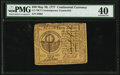 Contemporary Counterfeit Continental Currency May 20, 1777 $30 PMG Extremely Fine 40