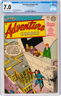 Adventure Comics #182 (DC, 1952) CGC FN/VF 7.0 Cream to off-white pages