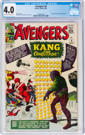 Silver Age (1956-1969):Superhero, The Avengers #8 (Marvel, 1964) CGC VG 4.0 Off-white to white pages....