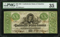 Confederate Notes:1861 Issues, T21 $20 1861 PF-1 Cr. 144 PMG Choice Very Fine 35.. ...