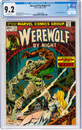 Bronze Age (1970-1979):Horror, Werewolf by Night #13 (Marvel, 1974) CGC NM- 9.2 Off-white pages....