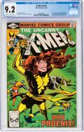 Modern Age (1980-Present):Superhero, X-Men #135 (Marvel, 1980) CGC NM- 9.2 Off-white to white pages....